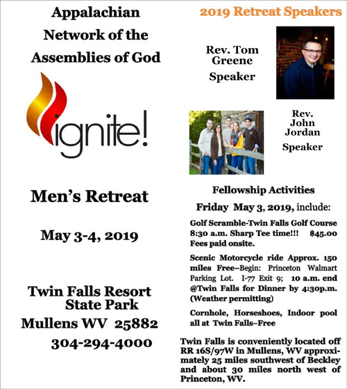 2019 Men's Conference (IGNITE) @ Twin Falls Resort State Park | West Virginia | United States